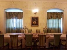 sala de la castlul Bethlen Haller unde se organizeaza eveniemente si degustari de vinuri