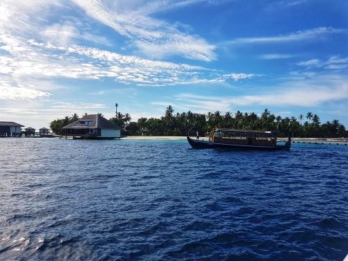 dhoni barca traditionala din Maldive