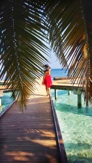 cea mai turcoaz apa din lume o gasesti in Maldive