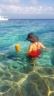 crystal clear water Maldives
