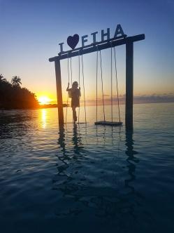 I love fiha island Maldives
