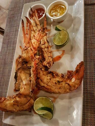 lobster Fihalhohi Island Resort Maldives