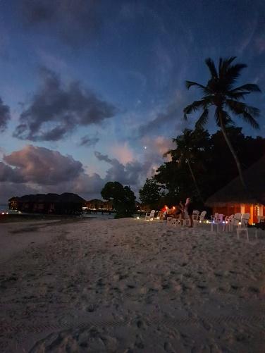 nights at Fihalhohi Island Resorts in Maldives