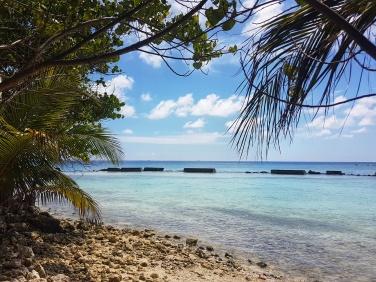plaja din zona de vest a insulei Fihalhohi