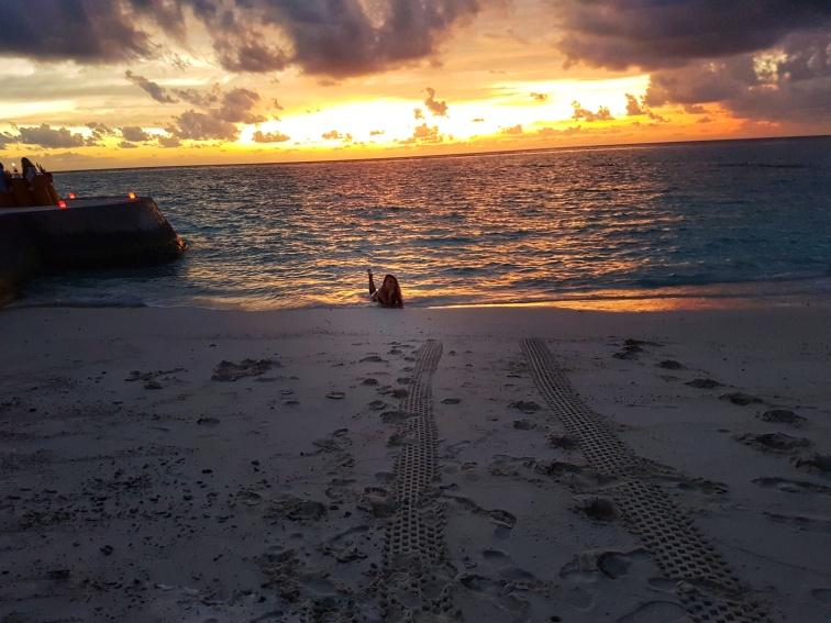 romantic dinner at Fihalhohi Island Resort