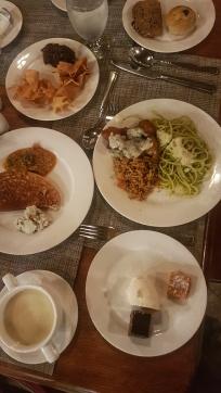 super meal at Fihalhohi Island Resort Maldives