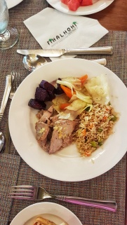 tuna steak Madlives Fihalhohi Island Resort
